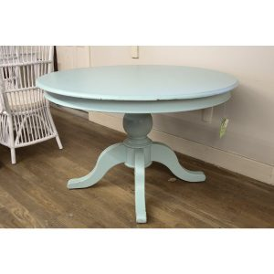 Duck Egg Blue Round Pedestal Table