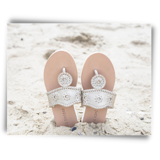 Our top pick for a summer sandal, Jack Rogers.
