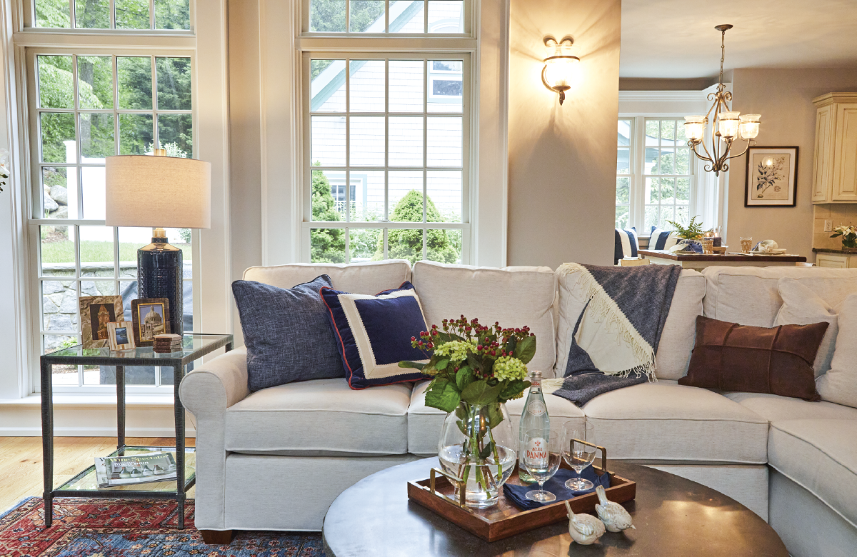 Old Lyme Living Room Sectional