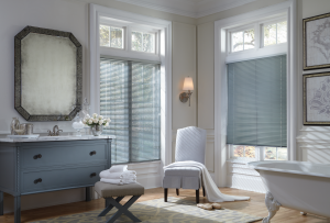 Find the right window treatments for your master bath.
